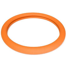 Mary Kay Auto silicone steering wheel cover Lenkradhuelle Steering Wheel Cover Orange