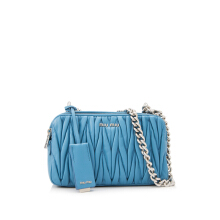 Pre-Owned Miu Miu Matelassé Shoulder Bag