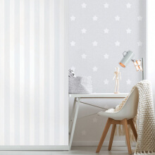 DREAM WORLD - Stella grey A5118-1 ( 1.06 x 15.60m )