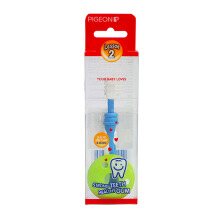 PIGEON Training Toothbrush L-2 Blue