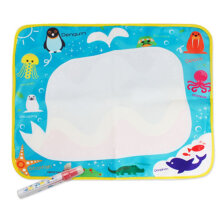 [COZIME] Children's cartoon water canvas writing blanket doodle Other