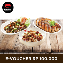 Rice Bowl - Voucher Value Rp. 100.000