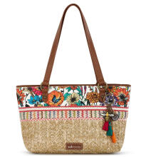 Sakroots Small Satchel Bag Optic In Bloom