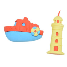 WIGGLE Nautical 3D Eraser Tube Nautical