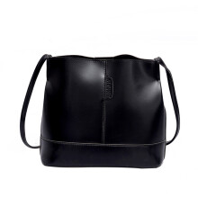 BESSKY Women Large-capacity Bucket Bag Hand Shoulder Bag_