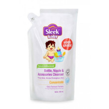 [free ongkir]Sleek Bottle Nipple and Baby Accessories Cleanser Refill - 900ml