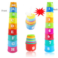 Jantens New Fashion Colorful 1 Set Baby Kids Educational Toy color