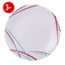 ARCOPAL Décor Malie Dessert Plate Set of  3