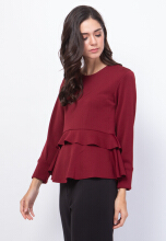 Florence Top Maroon All Size