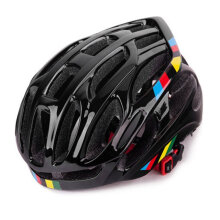 [COZIME] Soft Ventilation Cycling Bicycle Helmet Breathable Bike Helmet Fully-molded Black1