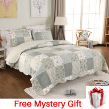 VINTAGE STORY Shabby Bed Cover Set Korea Size King 220x240 cm/BCF01
