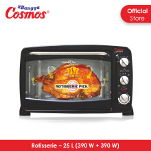 [DISC] COSMOS Oven 25L CO 9925 - Hitam