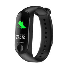 Kenny M3  With data cable  Smart Wristband Fitness Bracelet Bluetooth Watch For ios Android