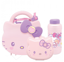 TECHNOPLAST Hello Kitty Fancy Revolution Set School Box - Pink