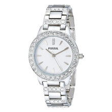 Fossil Ladies Jesse White Dial Stainless Steel Strap [ES2362]