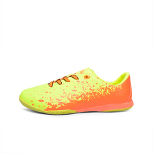 ARDILES Kids Aktavit Futsal Shoes - Green Citroen Orange