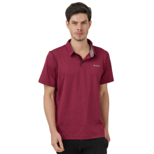 COLUMBIA Tech Trail Polo - Elderberry