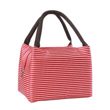 [COZIME] Simplified Lunch Bag Aluminum Foil Thickened Stripe Thermal Insulation Bag Others1