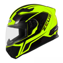 ZEUS ZS-813 - Helm Full Face - Fluo Yellow AN6 Black