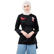 COVERING STORY Andhika Top Oops Patch Series - Black [All Size]