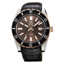 Orient FAC09002T Sporty Automatic Brown Dial Brown Leather Strap [FAC09002T]