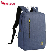 OIWAS Business Leisure Backpack Double Digital Interlayer For Laptop Travel Blue