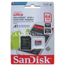 Sandisk Ultra Microsdxc Uhs-1 A1 64Gb Up To 100Mb/S