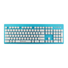 MICROPACK K3204 Suspension Button Keyboard Blue