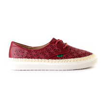 Kickers Ladies Shoes Kcl2756O - Red