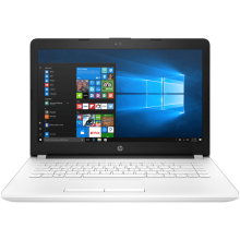 "HP 14-bs755TU 14"" HD/Intel Celeron N3060/4GB/1TB/Integrated Graphics/WIN 10 Home - White"