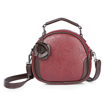 Fashionmall Vintage Women PU Leather Cross Body Shoulder Message Bag Female Zipper Handbag
