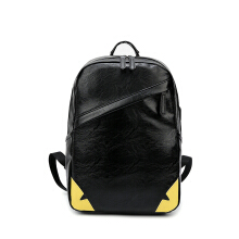 Wei's select fashion men's PU large-capacity backpack hot trend backpack B-YH1816