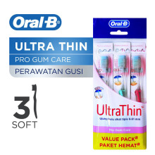 ORAL-B Ultrathin Pro Gum Care 3pcs
