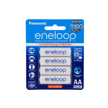 Panasonic Eneloop AA Isi 4 pcs Rechargeable Battery White