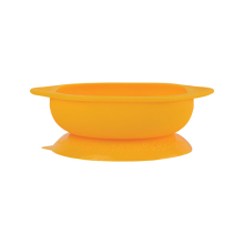 MARCUS & MARCUS Suction Baby Bowl - Giraffe Yellow