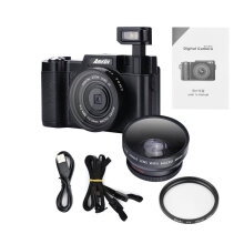 [OUTAD] CDR2 24MP 1080P Mini Digital Camera with 4 Times Digital Zoom & 3