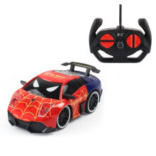 [COZIME] Electric RC Race Car Action Figure Model Radio Control Toy Car for Kids Red1
