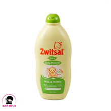 ZWITSAL Baby Powder Natural Milk Honey Bottle 300g / 300 g