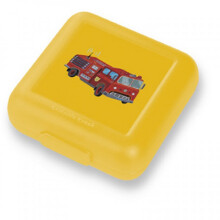 Crocodile Creek Sandwich Keeper - Yellow Fire Truck