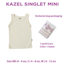 Kazel Singlet Mini Cream Edition 0-12m