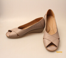 Sonne | BELLE SC 5011 Taupe -  Leather Shoes - Shoes Kulit Wanita