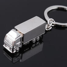 Farfi Fashion Charm Ring Keyfob Gift Lovely Truck Lorry Car Keyring Cute Keychain as the pictures