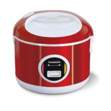 Sanken SJ-3000 Rice Cooker - Red [2L] Red