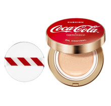 The Face Shop Oil Control Water Cushion Coca Cola Edition 15gr V201