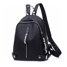 Keness Casual Backpack Lady Black Oxford Bag Waterproof Nylon High Quality Travel Backpack Female