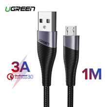 UGREEN Original Kabel 1Meter Micro USB for Samsung, Xiaomi Redmi, VIVO, OPPO Handphone Fast Charging Micro USB Cable for LG Android Cable USB Cord