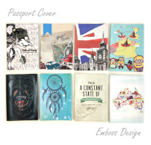 Shopline Premium Passport Cover Sampul Paspor Embossed Design - Exclusive