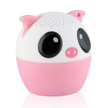 Keymao Mini Bluetooth Animal Wireless Speaker with Stereo Technology Pig Lainnya