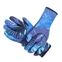 SBART Winter 3MM Neoprene Snorkeling Diving Gloves Men Thick Keep Warm Swimming Surfing Gloves Anti-skid Anti Scratch Gloves