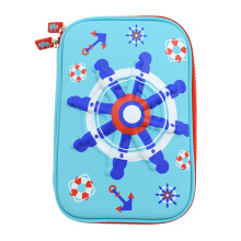 WIGGLE Nautical Hard Case Pencil Case Random Color